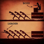 Be a leader, not just a manager